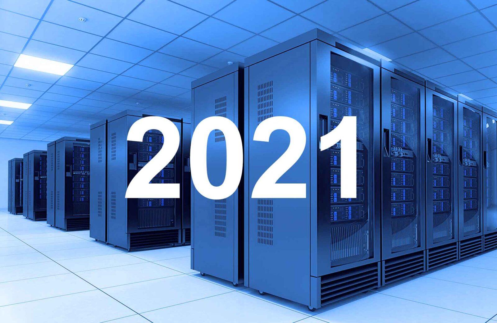 پیش بینی تغییرات مراکز داده برای سال 2021