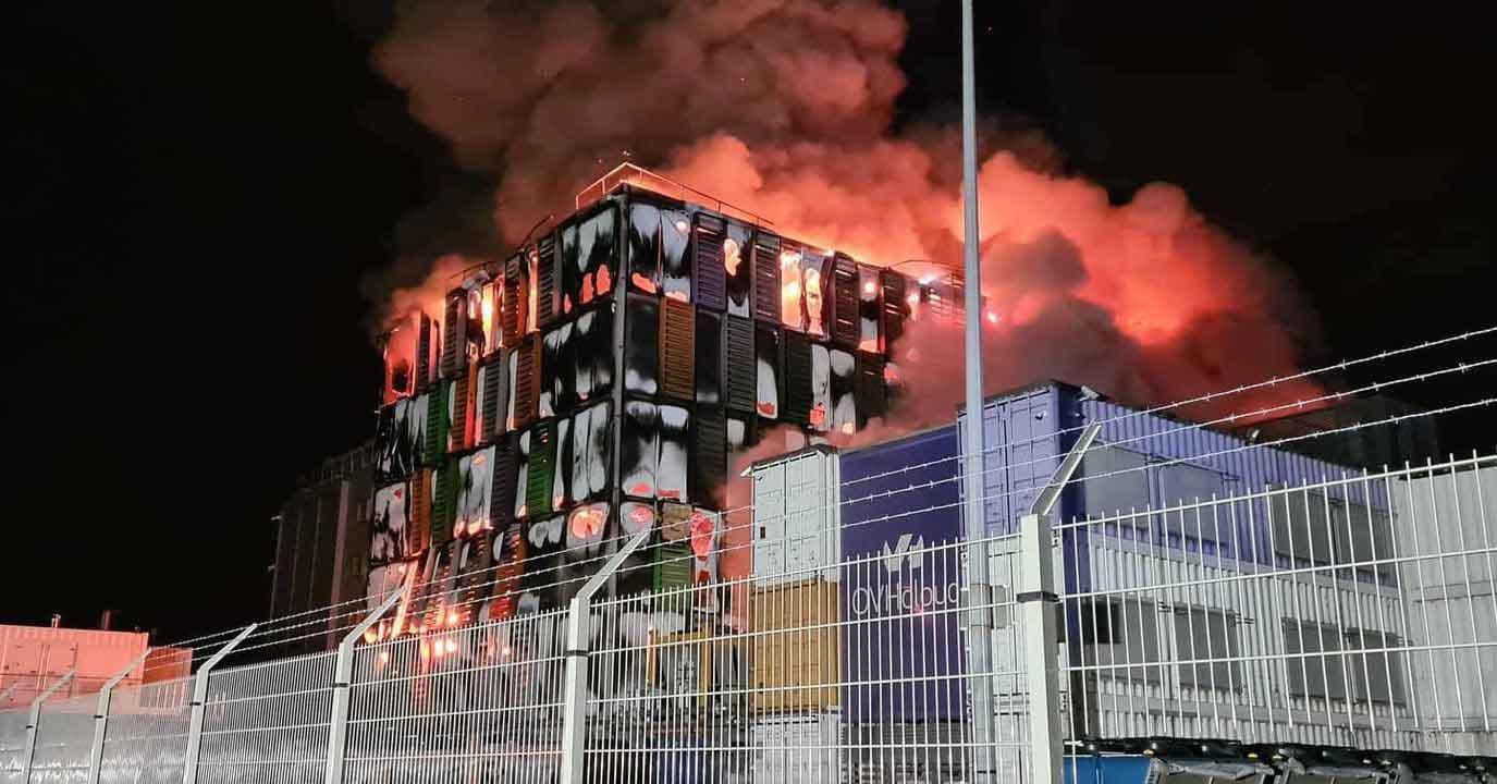 مرکز داده OVH واقع در فرانسه دچار آتش سوزی شد