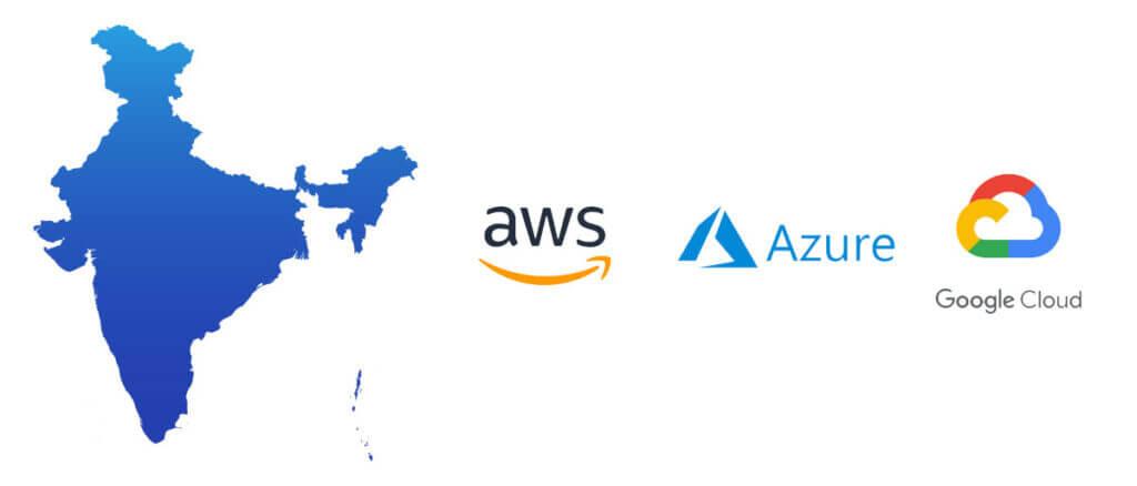 microsoft azure amazon web services google cloud competition india