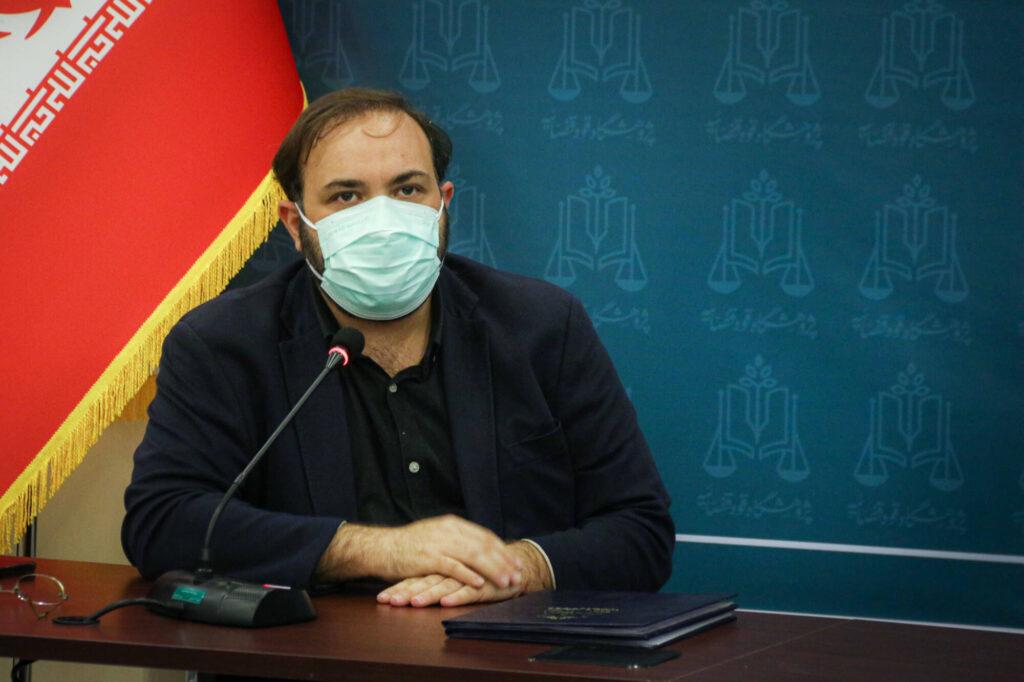 سیدمهدی جوادی، رییس مرکز نوآوری و آموزش پژوهشگاه قوهقضاییه
